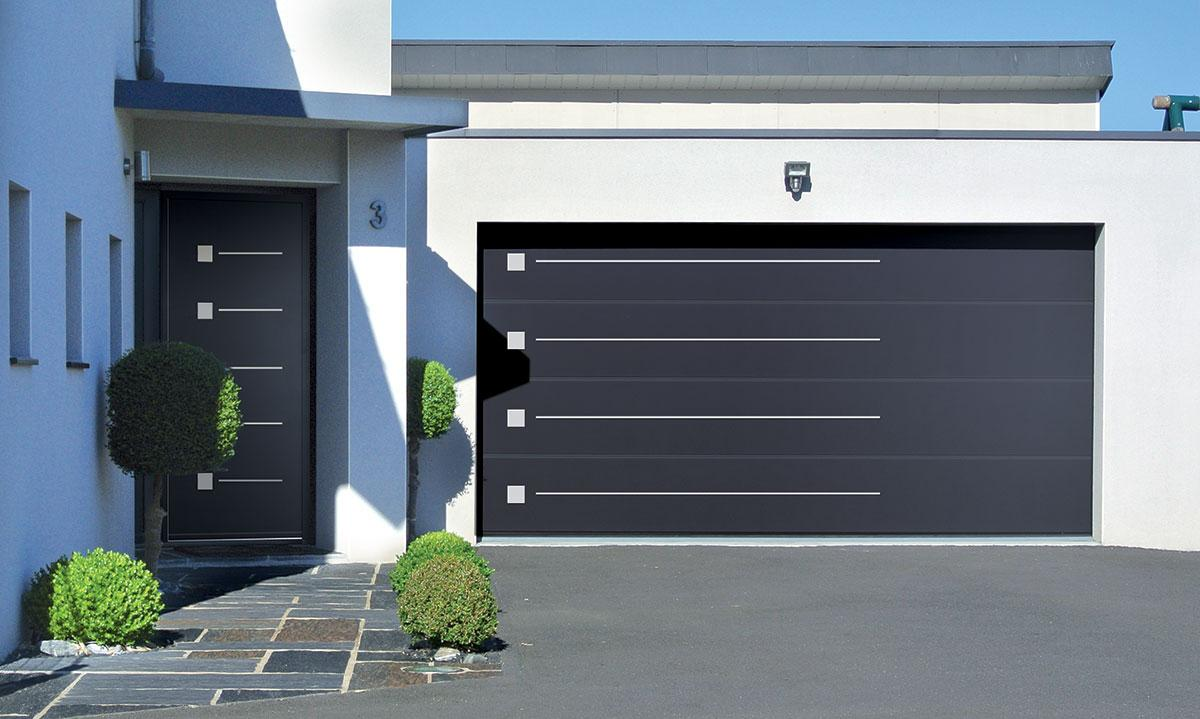 Fen tre portes volets lorient menuisier poseur et vitrier fen tres stephane jacques Prix porte de garage sectionnelle avec portillon
